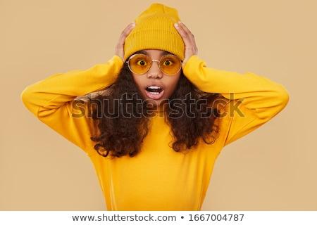 открытых стороны ярко цифровой композитный женщину человека Сток-фото © wavebreak_media
