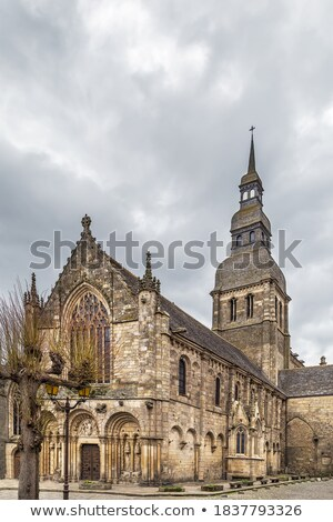 St. Sauveur Basilica, Dinan, France Stock photo © borisb17