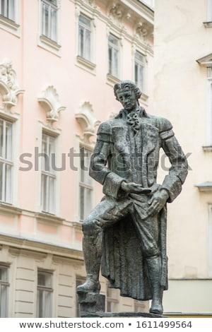 Vierkante Wenen stad centrum leven Oostenrijk Stockfoto © borisb17
