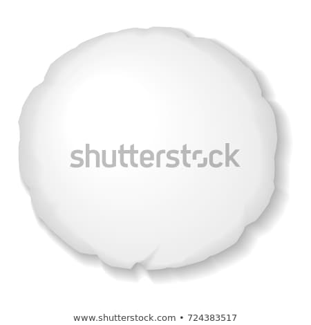 Round Pillow For Comfortable Relax Sleep Vector Stock photo © pikepicture