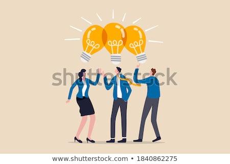 ビジネス スタートアップ 人 革新的な アイデア 成功 ストックフォト © robuart