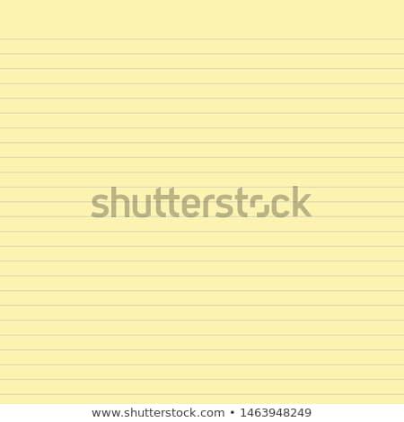 Stock fotó: Citromsárga · papír · iskola · irodaszerek · vágólap · fehér