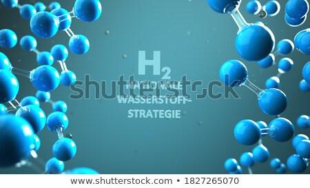 текста водород стратегия 3d иллюстрации промышленности будущем Сток-фото © limbi007