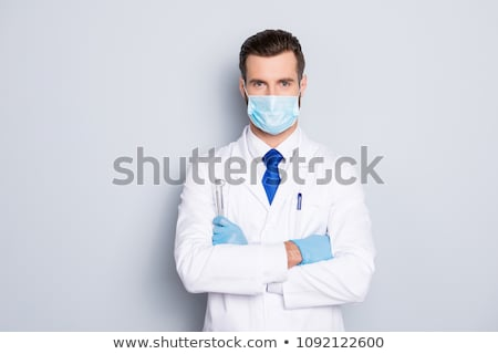 офтальмолог · врач · кавказский · мужской · доктор · очки - Сток-фото © kurhan