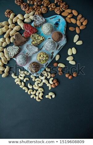 Making pralines with dates Stock photo © IngaNielsen