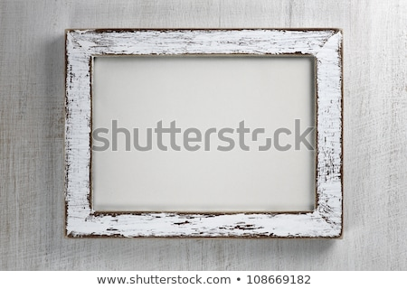 elegant frame with a rustic background stock photo © digitalstorm