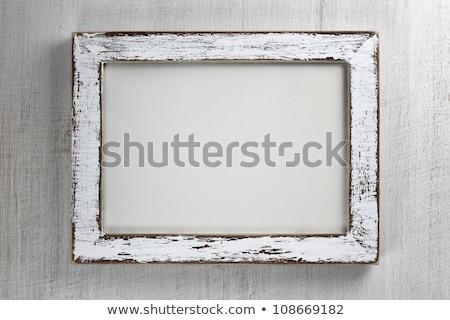 элегантный кадр деревенский фотография текста строительство Сток-фото © digitalstorm