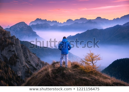 Dolomites - mountain ridge Stock photo © Antonio-S