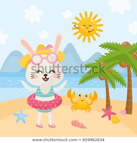 Beach bunny. stock photo © Carpeira10
