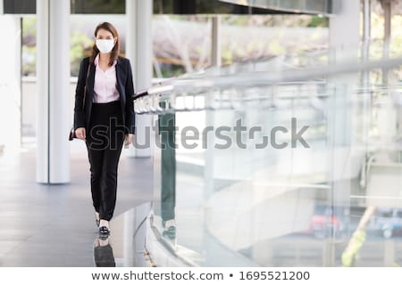 Business executives outside an office building Stock photo © photography33