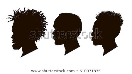 Digital Man Silhouette Stock photo © ArenaCreative