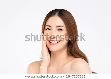 Close-up shot of a fair-skinned woman Stock photo © photography33