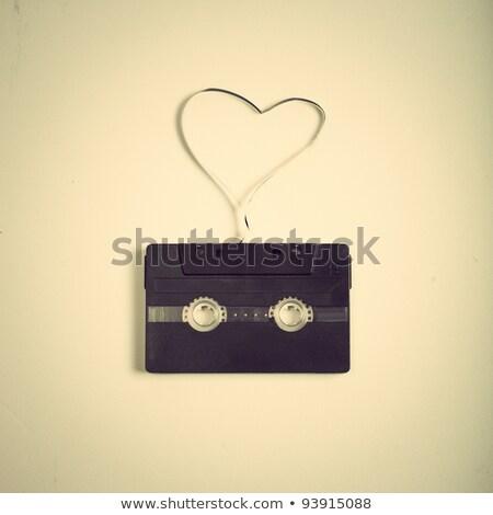 Amor música libro papel arte carta Foto stock © inxti