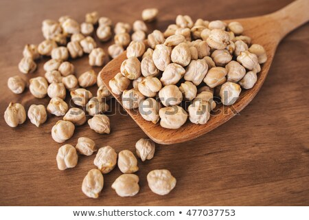White and big Chickpea Stock photo © ziprashantzi
