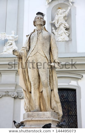 statue of musician Franz Joseph Haydn in Vienna, Austria Stock photo © vladacanon