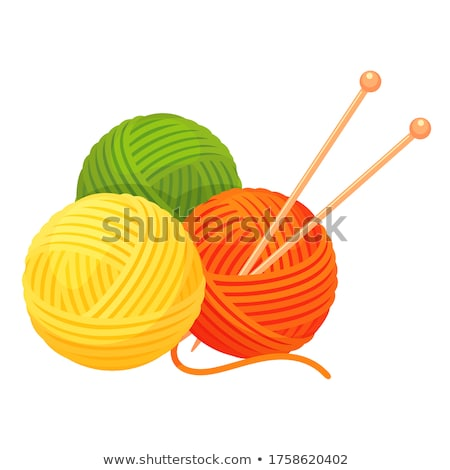 colorful knitted ball stock photo © inxti