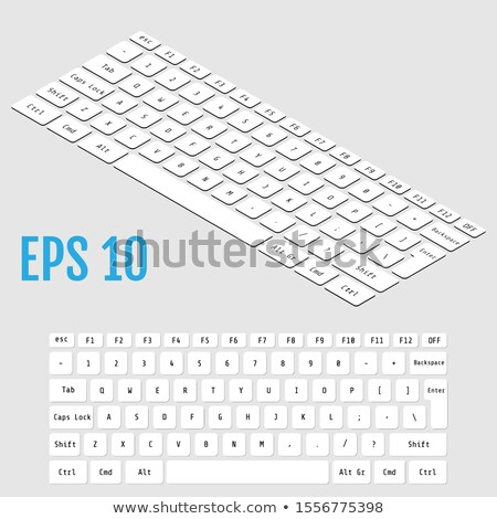 keyboard enter template stock photo © bassile