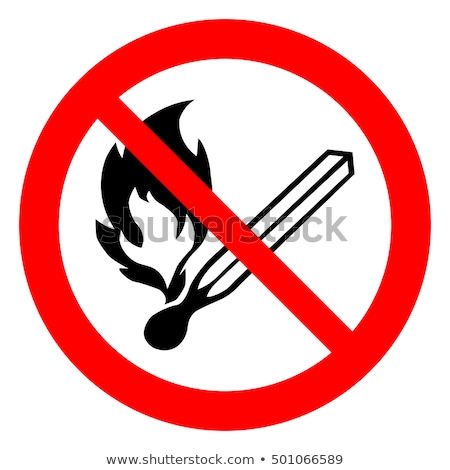 no fire sign stock photo © hermione