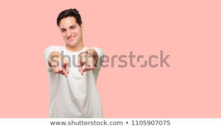 случайный · молодым · человеком · фотография · молодые · человека - Сток-фото © feedough