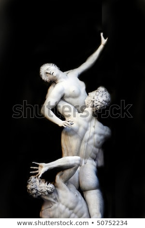 'The Rape of the Sabine Women' by Giambologna Stock photo © ifeelstock