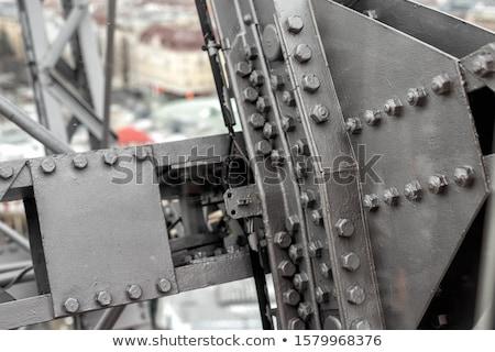 さびた · 鉄 · リベット · テクスチャ · 構造 - ストックフォト © bertl123