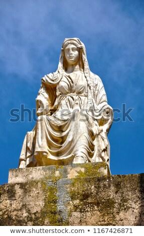 roman theater goddess ceres stock photo © fxegs