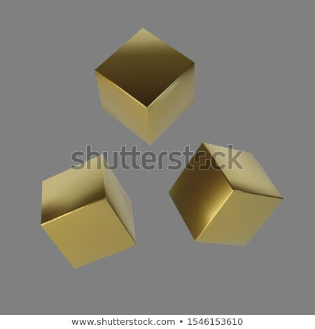 business success in golden cubes Stock photo © marinini