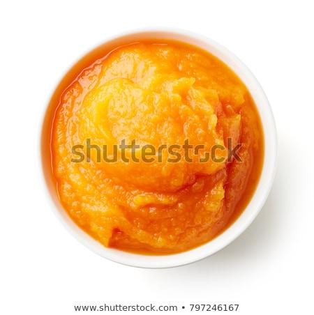 carrot puree Stock photo © M-studio