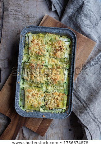 Courgette rolls and stuffed mozzarella Stock photo © joker