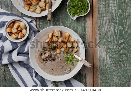 Creme soup Stock photo © MamaMia