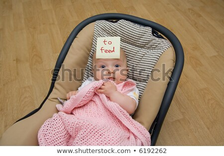 funny breastfeeding Stock photo © chesterf