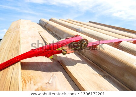 Ratchet lashing Stock photo © smuay