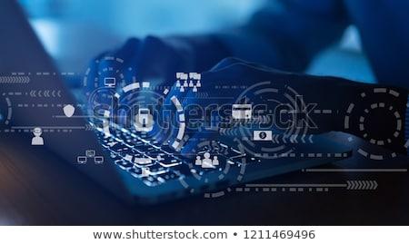 cyber spy stock photo © 3mc