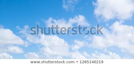 Сток-фото: Панорама · небе · красивой · облака · аннотация