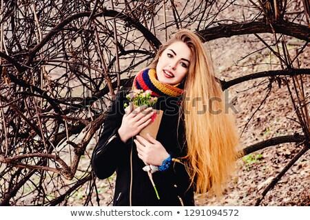 невеста · цветок · девушки · пляж · молодые · стоять - Сток-фото © nejron