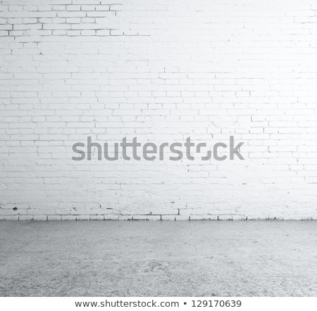 Damaged board on wall Stock photo © Nejron
