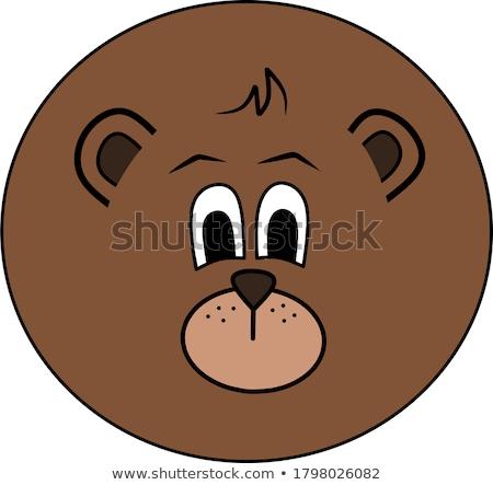 Homme · noir · ours · Homme · mère - photo stock © oleksandro