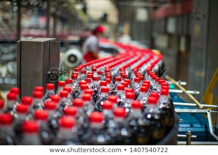 Glass Bottle of Carbonated Drink Stock photo © dezign56