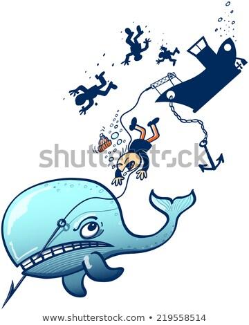 Cartoon Harpoon Foto stock © zooco