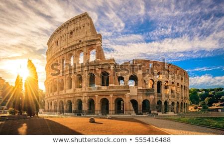 ローマ 遺跡 写真 家 教会 ストックフォト © Dermot68