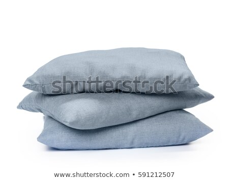 Bedding objects, pillow and bed spreads isolated Stock photo © ozaiachin