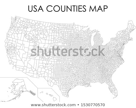 Map of USA Texas State with Dot Pattern Stock photo © Istanbul2009