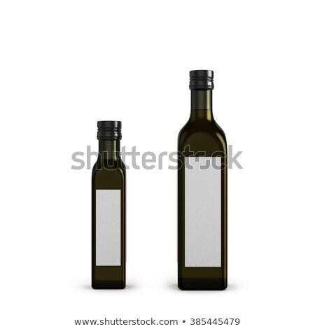 şişeler · bakire · zeytinyağı · stüdyo · renk · taze - stok fotoğraf © ozaiachin