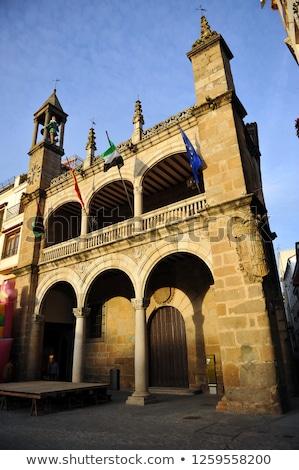 Mairie Espagne ville architecture Europe tour Photo stock © Photooiasson