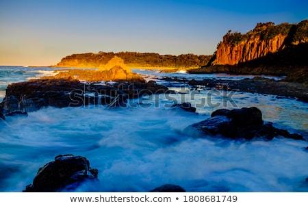 Austrália paisagem mar verão Foto stock © dirkr