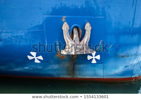 âncora ilustração mar navio engraçado desenho animado Foto stock © adrenalina
