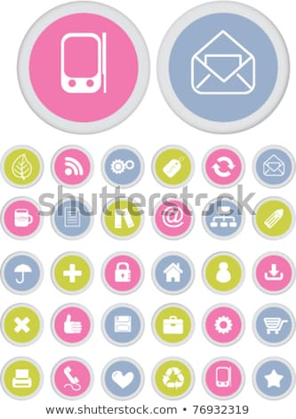 Hot Deals Pink Vector Button Icon Stock photo © rizwanali3d