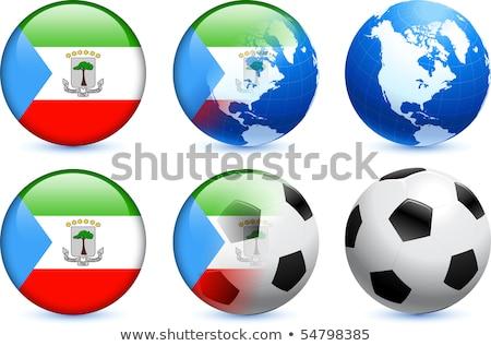 Canada Equatoriaal-Guinea vlaggen puzzel geïsoleerd witte Stockfoto © Istanbul2009