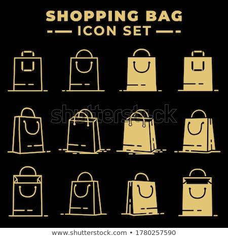 compras · metálico · eps · arquivo · cor · ícone - foto stock © rizwanali3d
