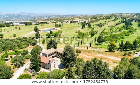 Monastery on the hill by the pond  Stock photo © Kotenko